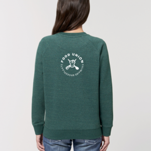 Food Union Sweater Pastinaak vrouw achterzijde