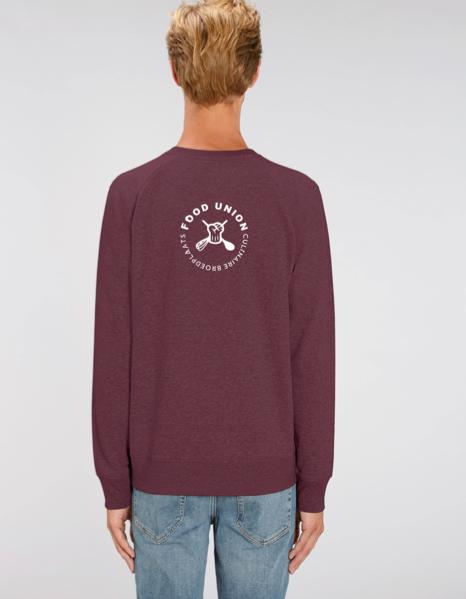 Food Union Sweater Spruitjes heren achterzijde