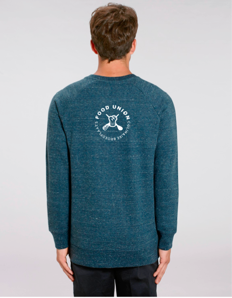 Food Union Sweater Vijgen heren achterzijde