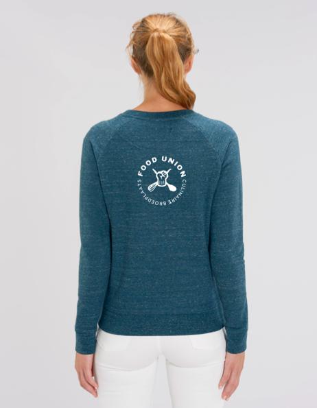 Food Union Sweater Vijgen dames achterzijde